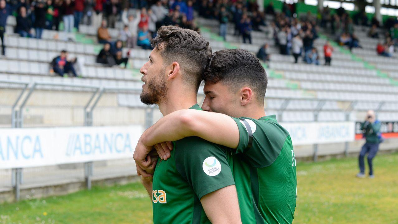Las imágenes de la goleada del Racing al San Sebastián de los Reyes.María Pérez Araújo, jugadora del Uni Ferrol