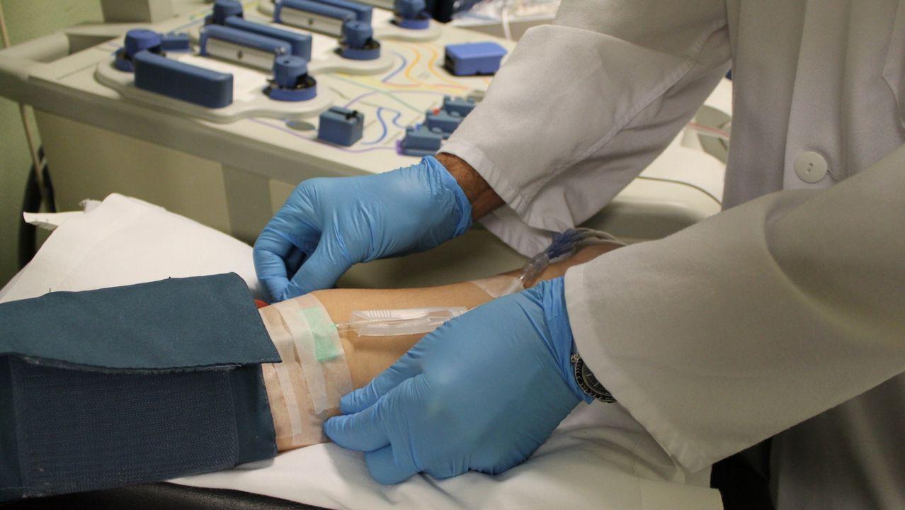 As doazóns de sangue dos galegos acadan a recomendación da OMS
