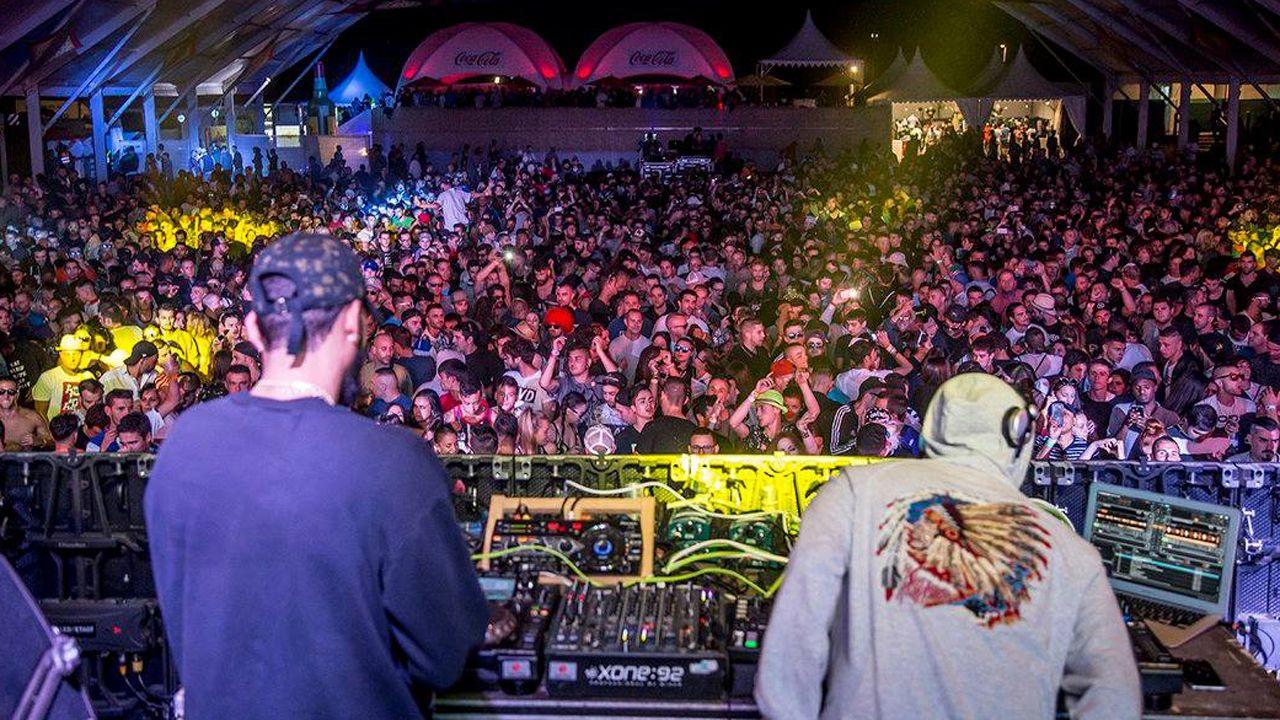 Imagen de la edición pasada del festival de música electrónica de Arriondas