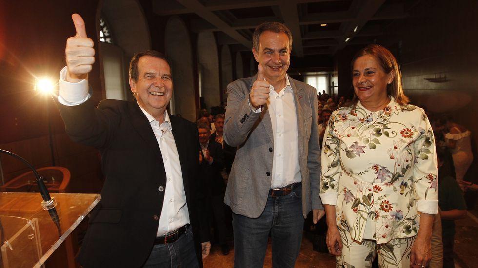 Zapatero: «El nuevo líder del PSOE tendrá una autoridad extraordinadria»