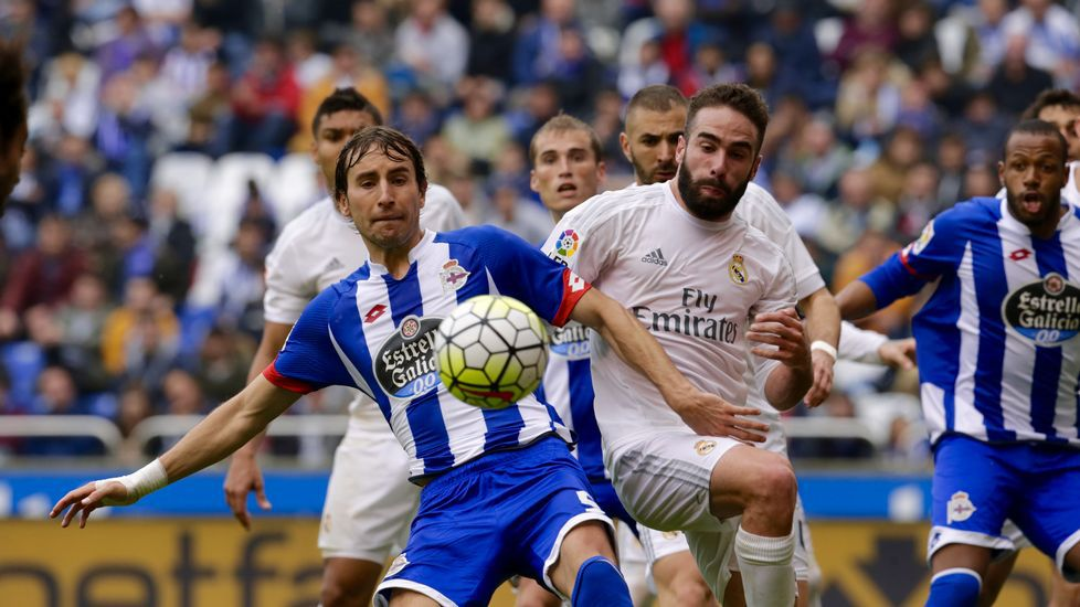 El Deportivo-Real Madrid, en fotos.