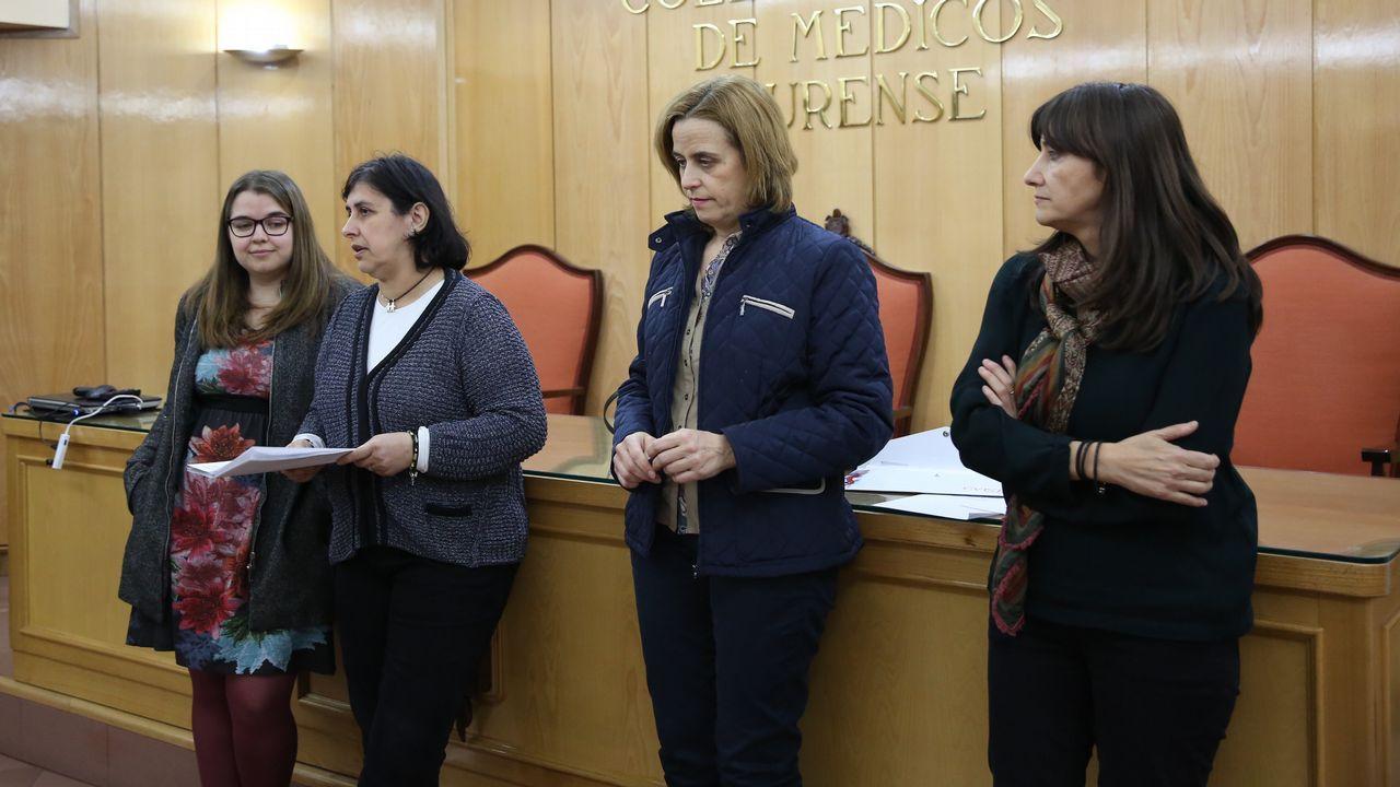 De izquierda a derecha, Tarik Vázquez, Manuel Franco, Alba Rivas y David Mato