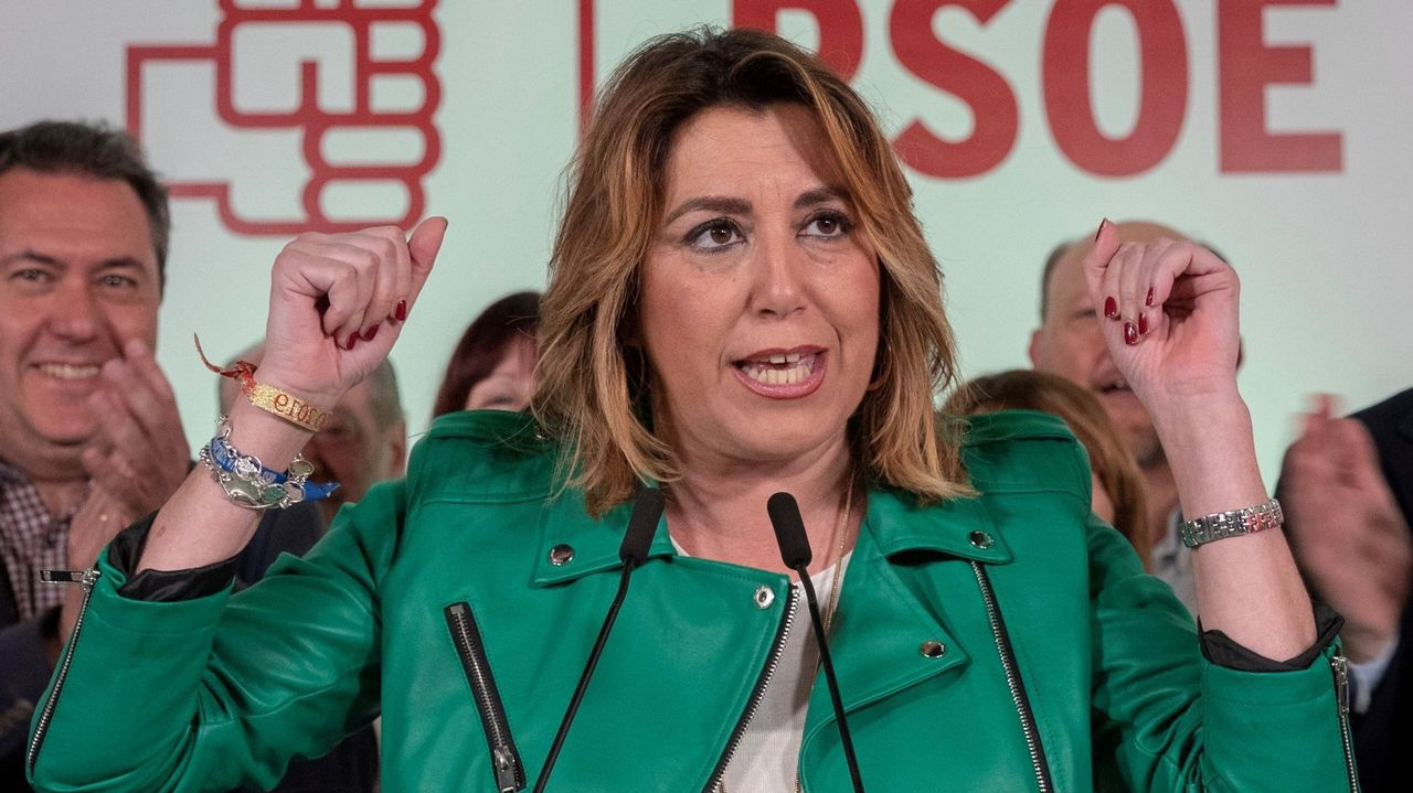 Ábalos atendió a los medios en la manifestación del 1 de mayo en Madrid