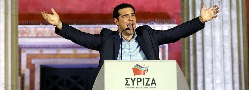 Syriza se hace con el poder en Grecia.Castro fue el único fotógrafo gallego en las elecciones.
