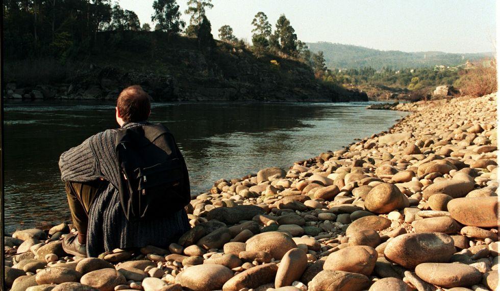 El viaje por la orilla del Miño no es muy largo pero sí intenso debido al paisaje.