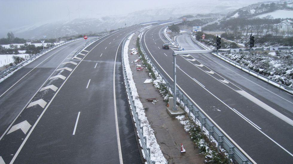 Las imágenes de las nieve en diversos puntos de la provincia