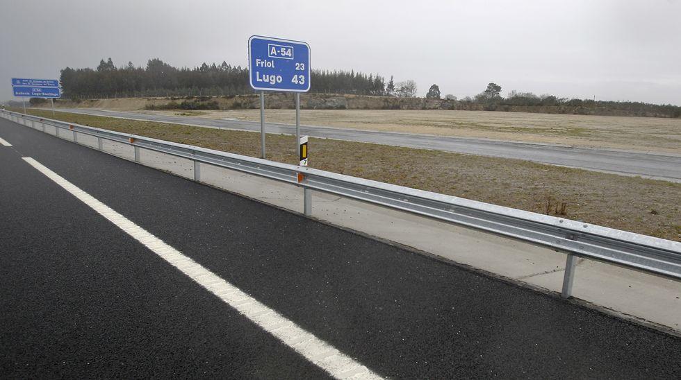 Chequeo a la A-54 en Lugo