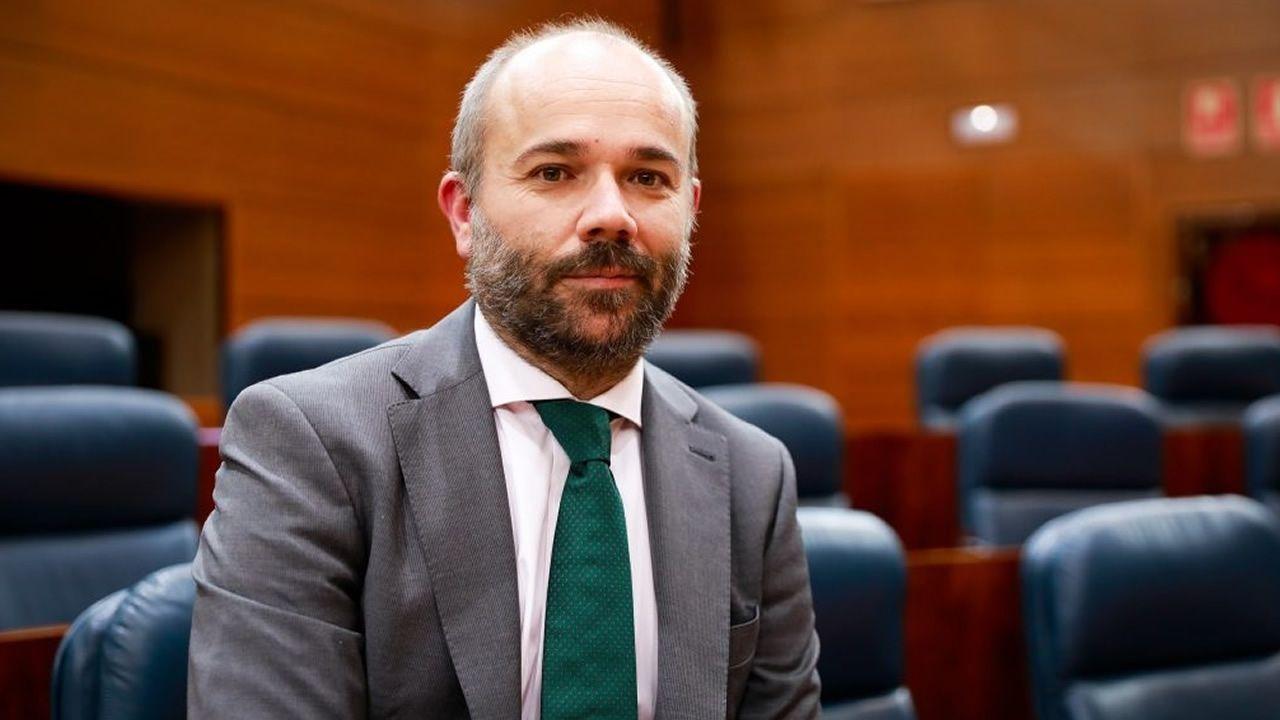 Juan Trinidad (Ciudadanos), elegido presidente de la Asamblea de Madrid