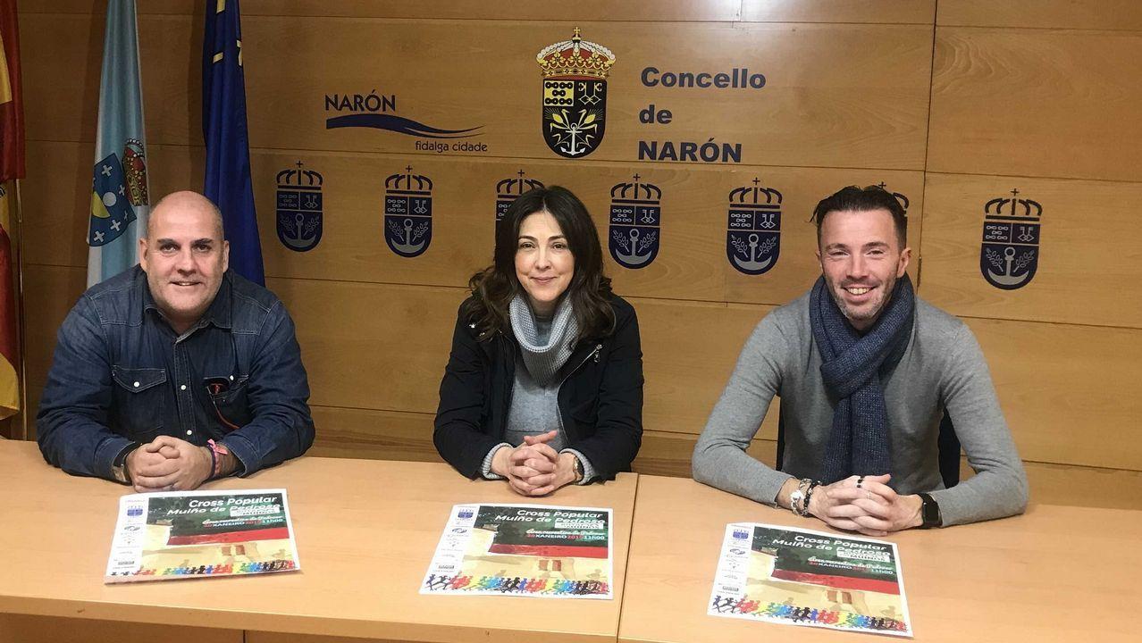 Iván Puentes y Nerea García ganan el cros Muíño de Pedroso.España - Eslovaquia