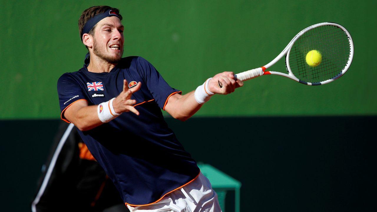Pablo Carreño, en su partido frente a Kevin Anderson en Indian Wells