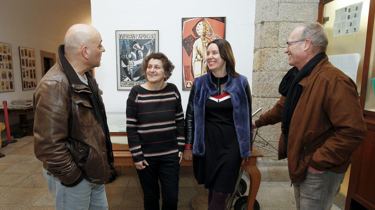 Teatro y artesanía llenan de actividad Moraime, en Muxía.Pablo Álvarez Meana y Pablo Casado