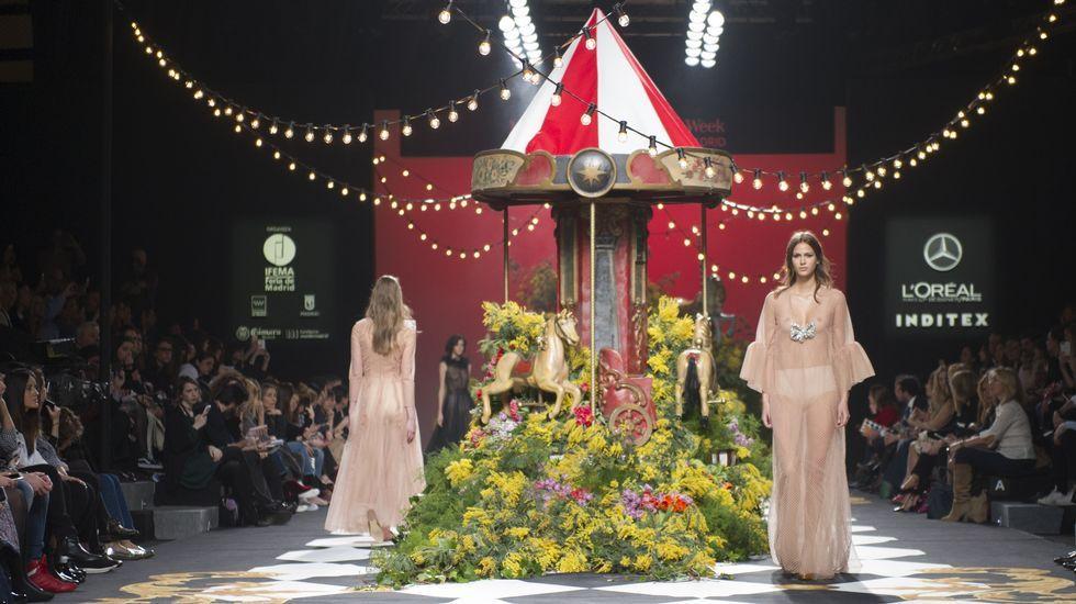 Jorge Vázquez hace soñar en laMadrid Fashion Week