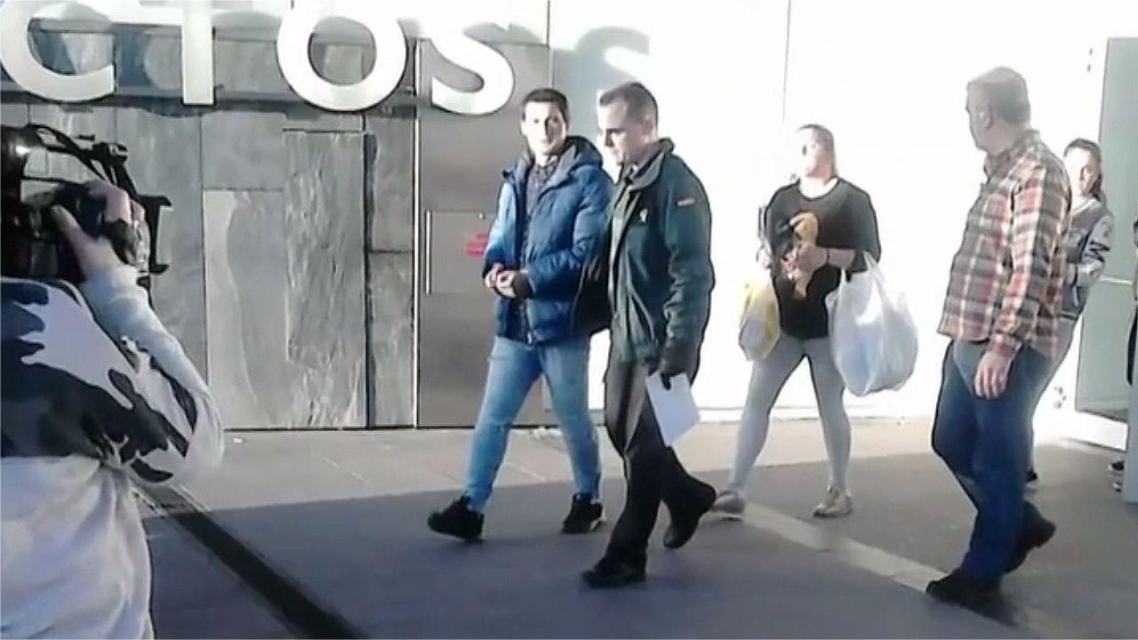 Vuelve a la cárcel el preso que «resucitó» en Oviedo