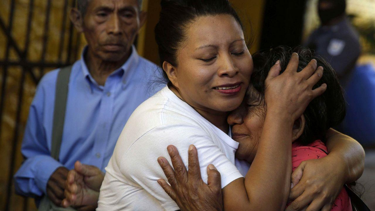Teodora Vásquez está libre tras once años en prisión por un aborto.