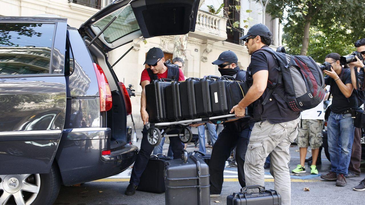 Una operación contra la corrupción de la Guardia Civil