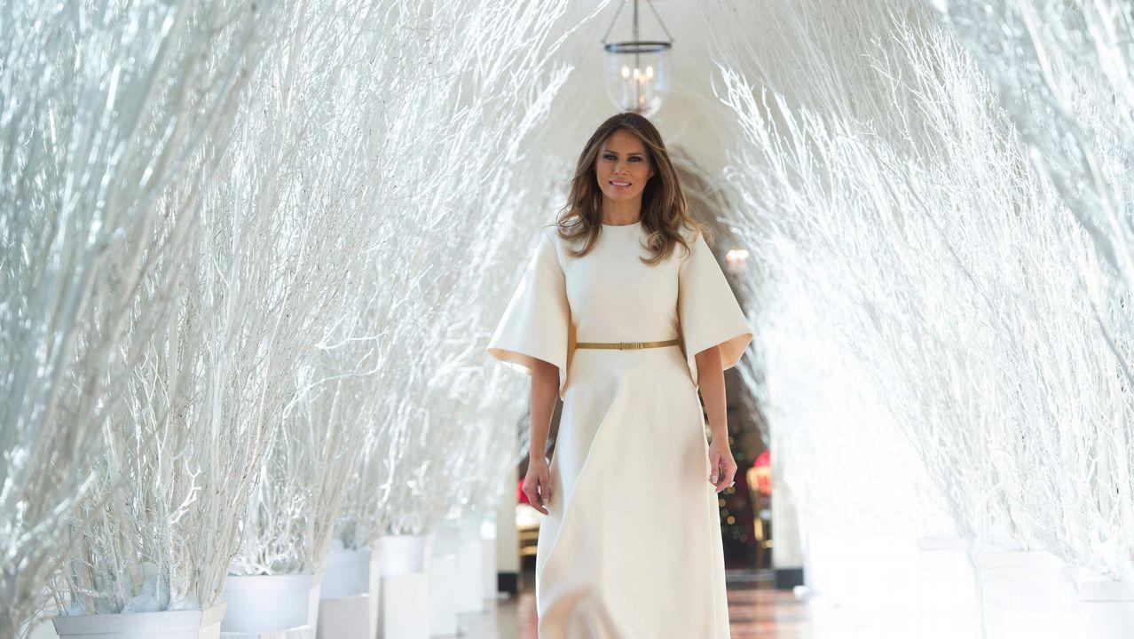 La excesiva decoración navideña de los Trump en la Casa Blanca