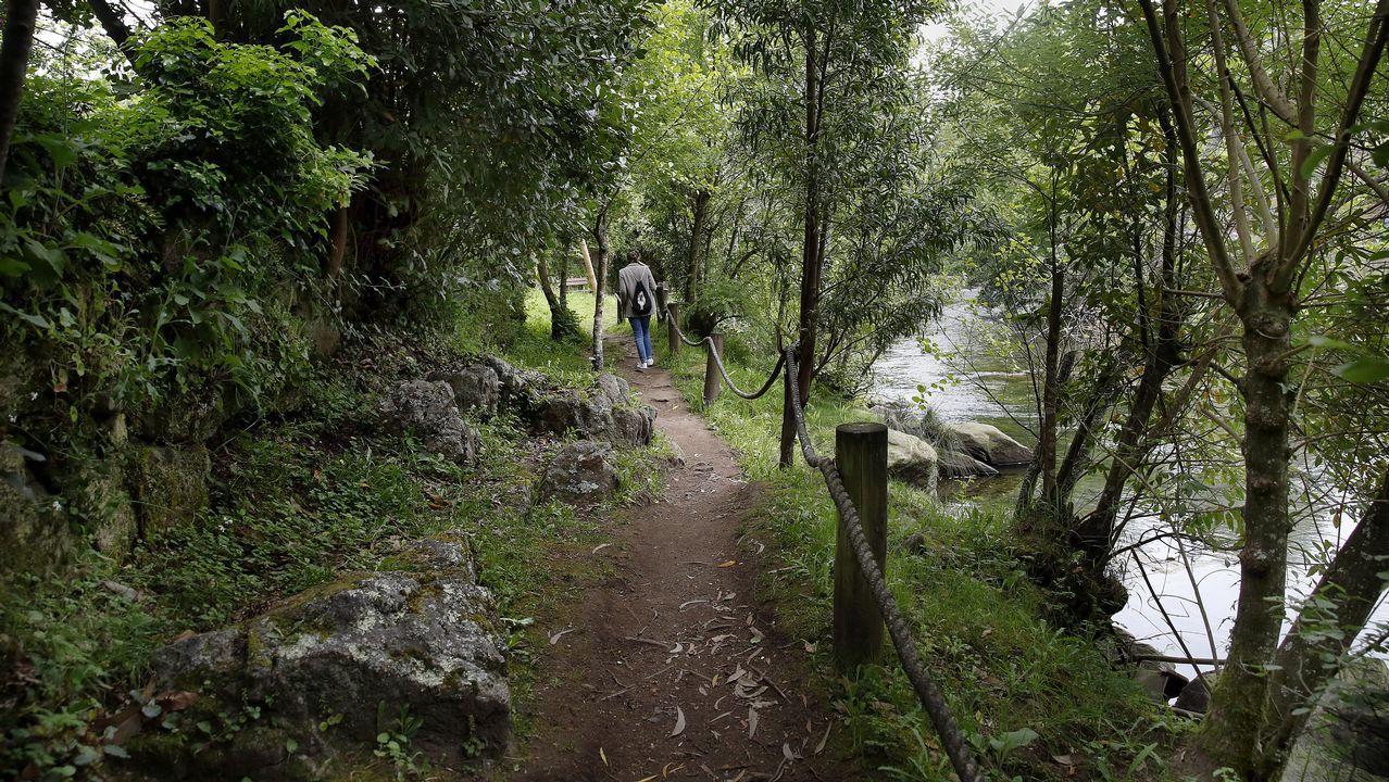 CHEQUEO EN EL PASEO DEL RIO COROÑO