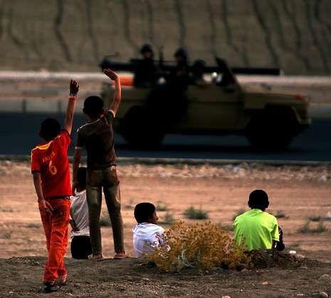 .El avión, antes de salir de la base aérea de Torrejón