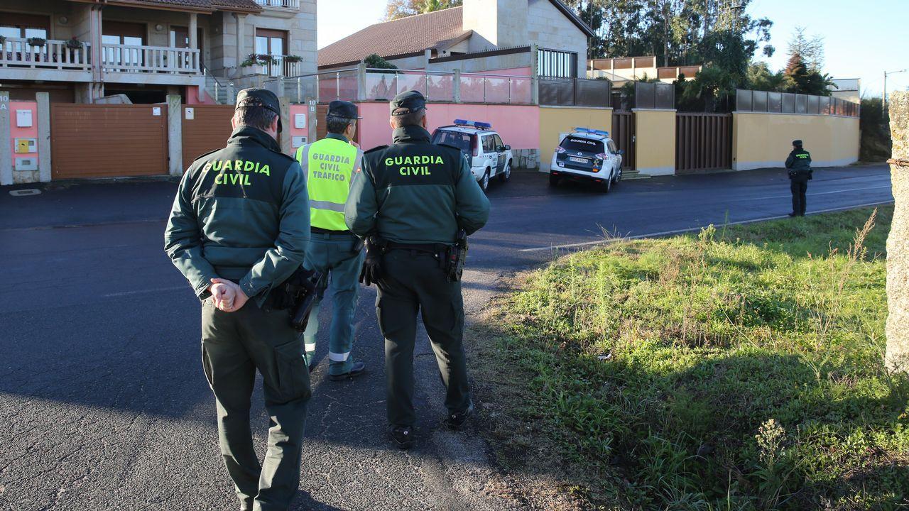 Detienen al Karateka en Meis por tirotear a una patrulla de la Guardia Civil de Tráfico