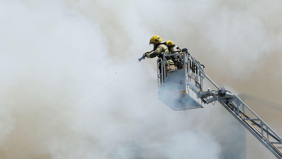 «No sabía que iba a ser de mi vida».Incendio en A Falperra