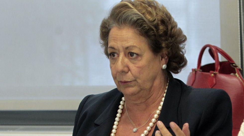Rita Barberá fue durante 24 años alcaldesa de Valencia, desde el año 1991 hasta el 2015.