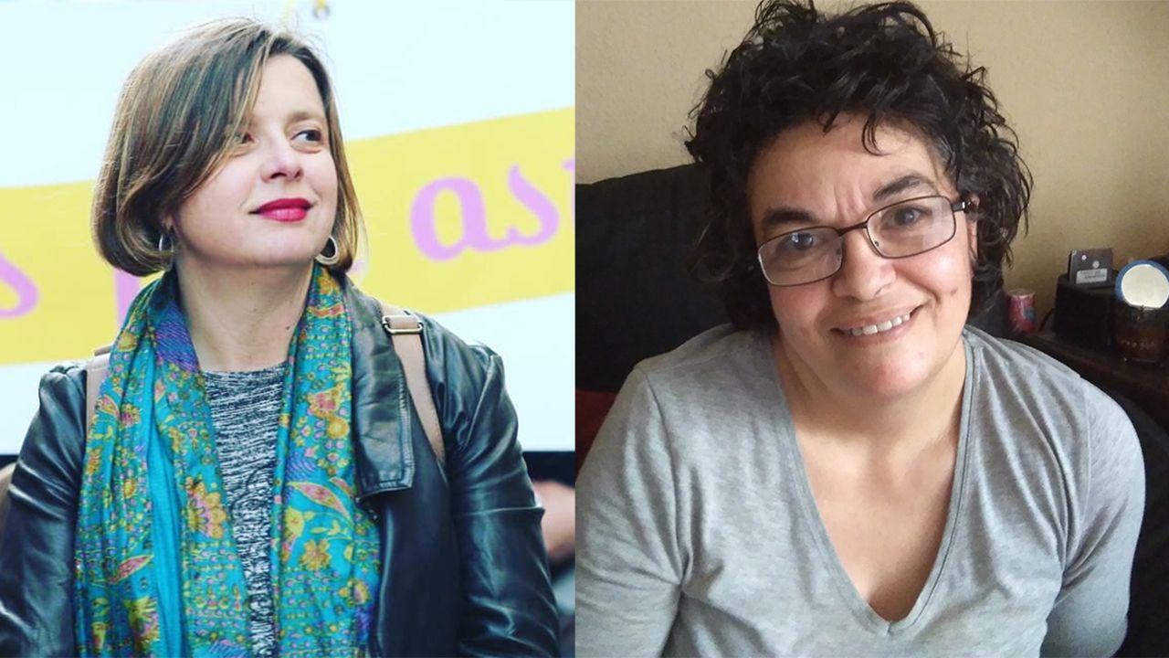 La campaña de Somos al estilo Pantomima Full.Ana Taboada y Cristina Tuero