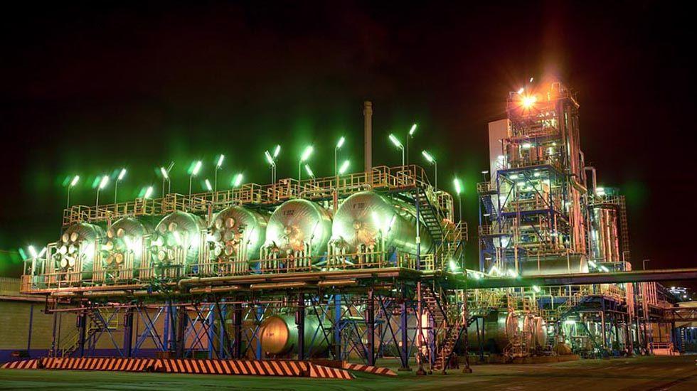 Factoría de Alcoa en Avilés
