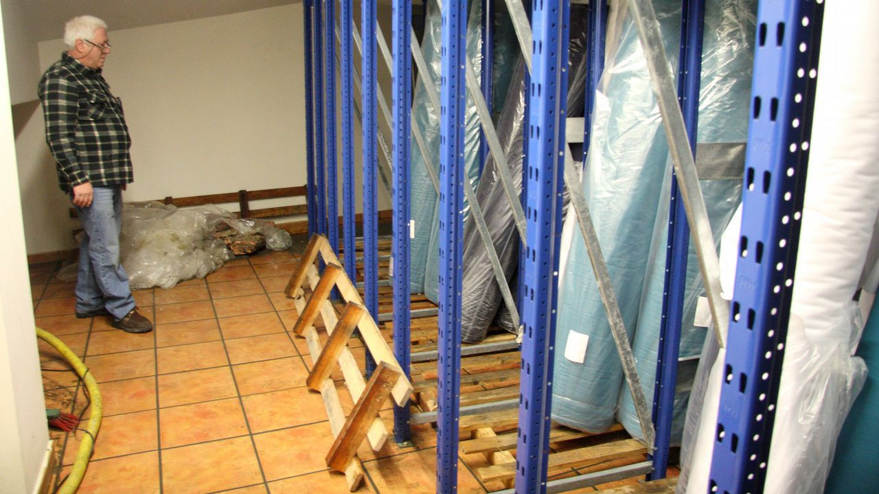 Alumnos del Centro de Formación e Experimentación Agroforestal de Guísamo exigen una pasarela