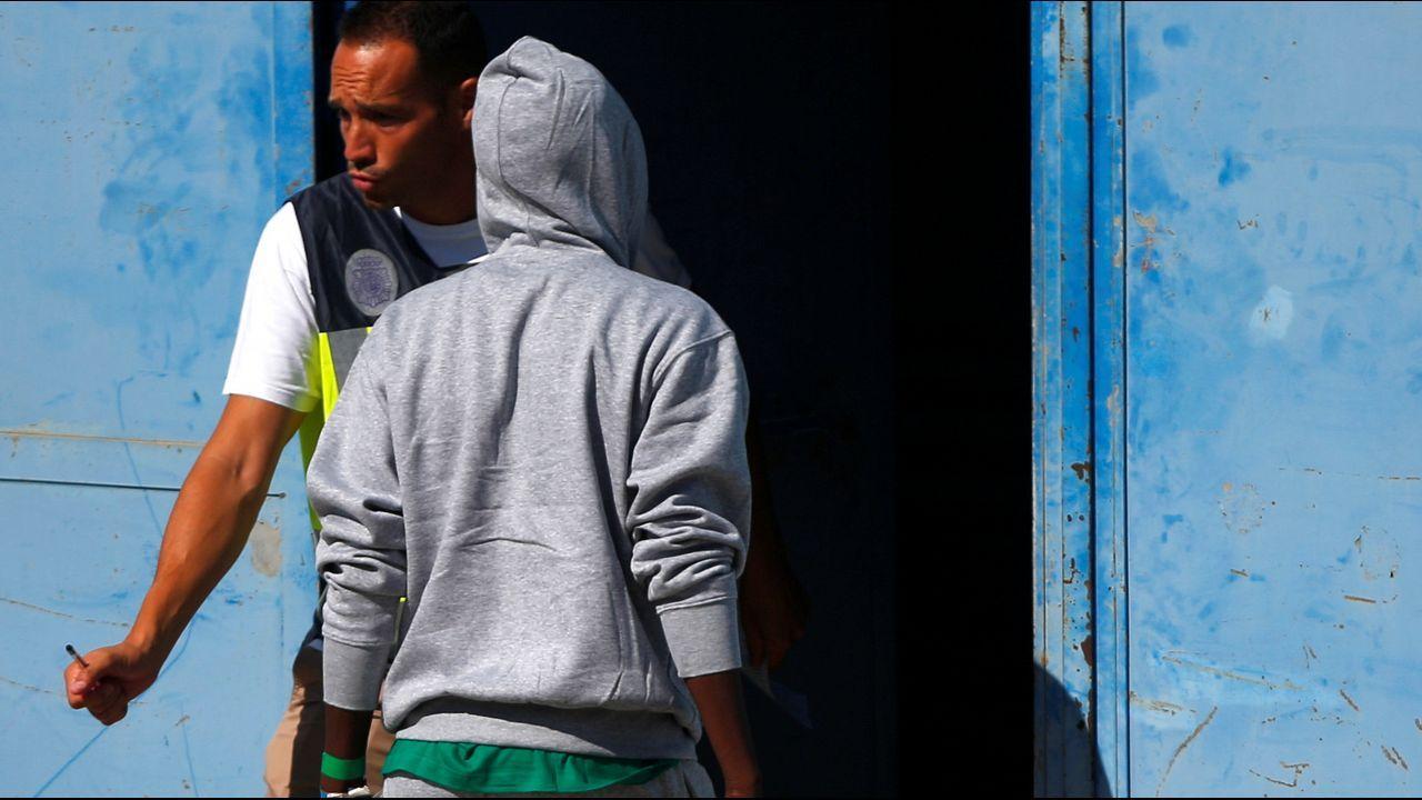 En total, 87 migrantes han llegado a Algeciras (Cádiz)