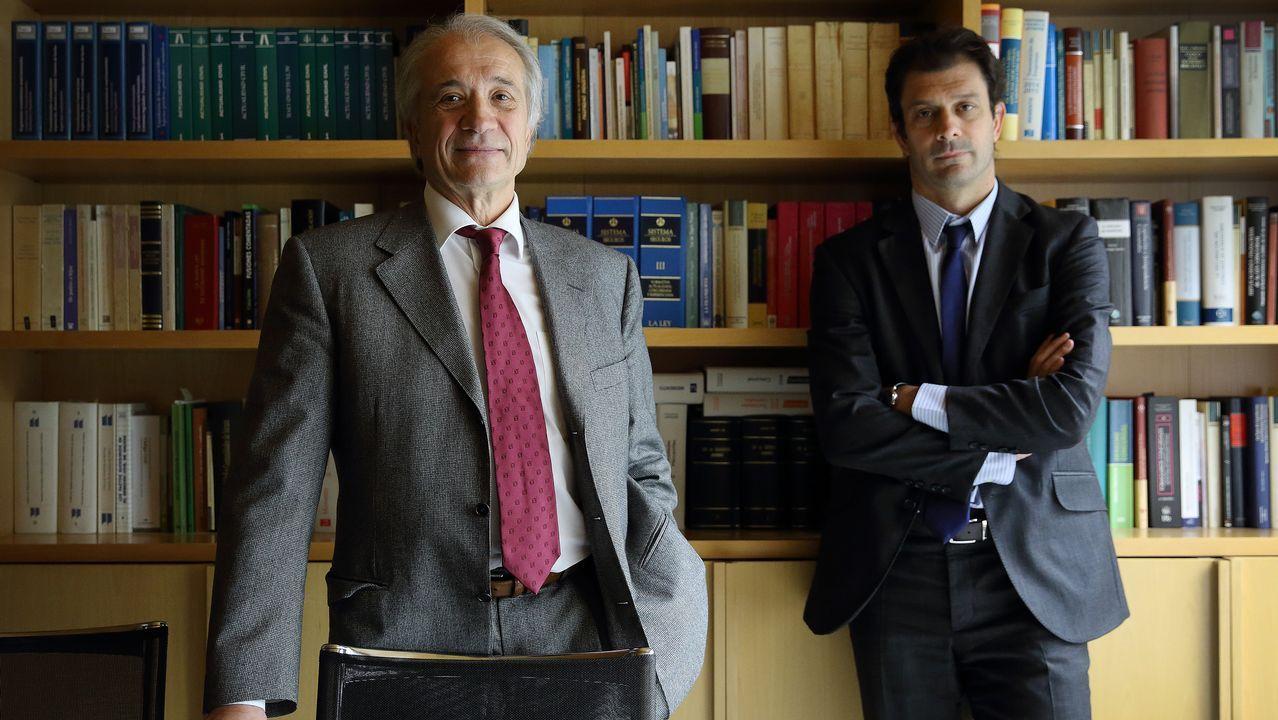 José y Marcos Vales: «El dinero no tiene color. Sí, de Galicia se van patrimonios»