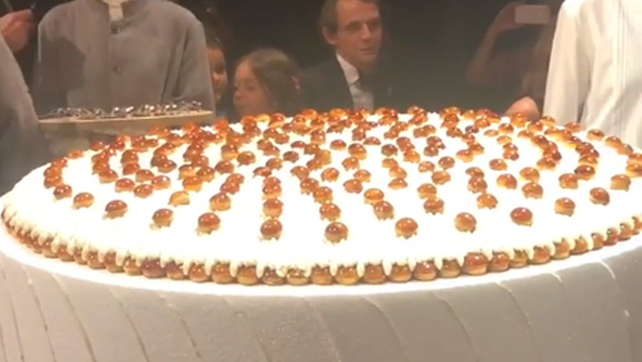 La tarta de la fiesta