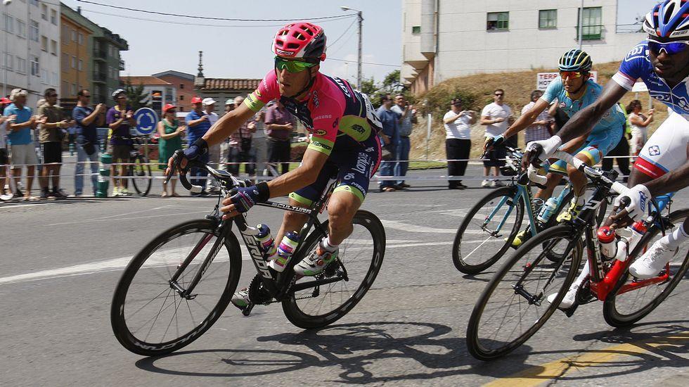 El ciclista Alberto Losada tiene raíces en Monforte
