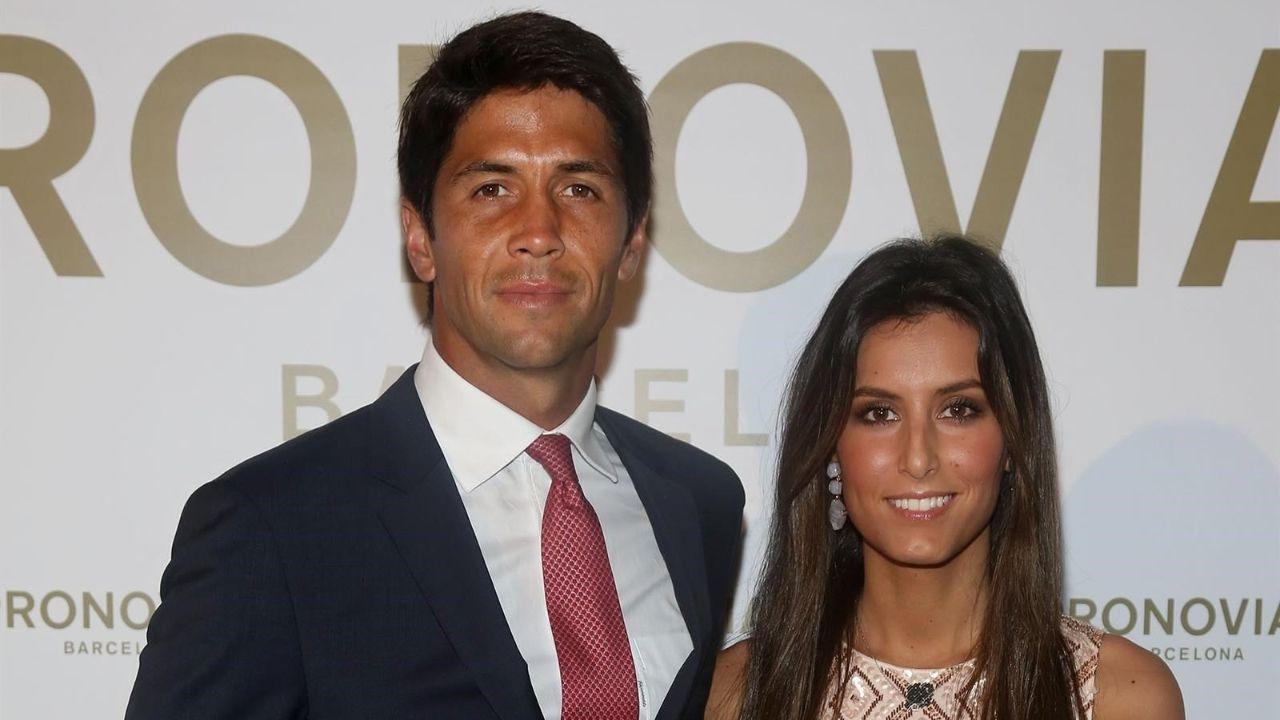 La primera imagen de la boda de Ana Boyer y Verdasco.Julio Iglesias