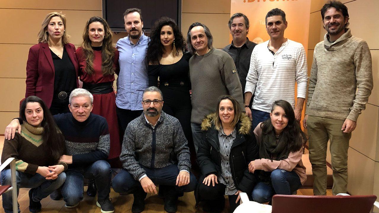 Presentación de las nominaciones de los Premios Oh! 2019 en la Casa de la Palmera de Gijón