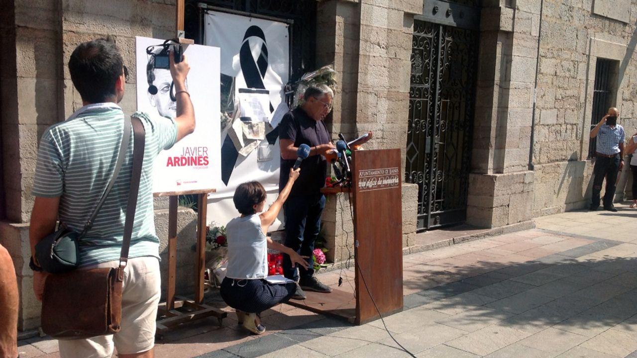Manuel González Orviz en el homenaje a Javier Ardines