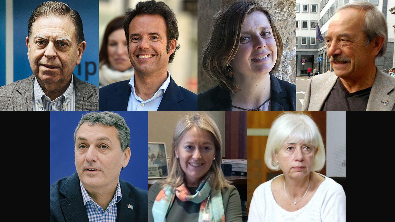 Todo listo para el Martes de Campo.Los siete candidatos a la alcaldía de Oviedo