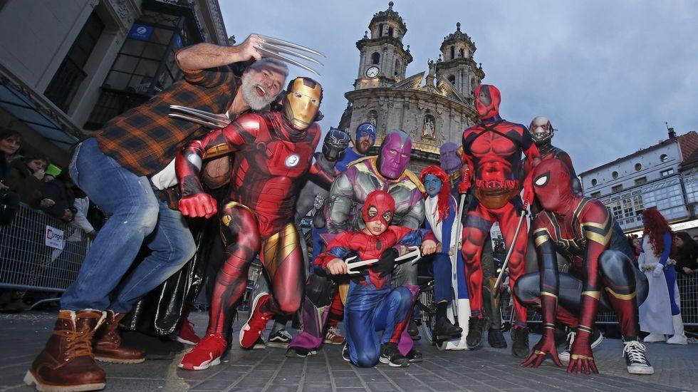 Desfile del Carnaval de Pontevedra