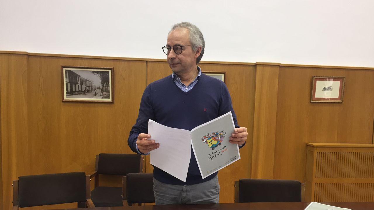 Ethel Vázquez y Julio Sacristan  visitará Autos Cal Pita-Asicasa, con motivo de la presentación de los nuevos buses en Coruña.