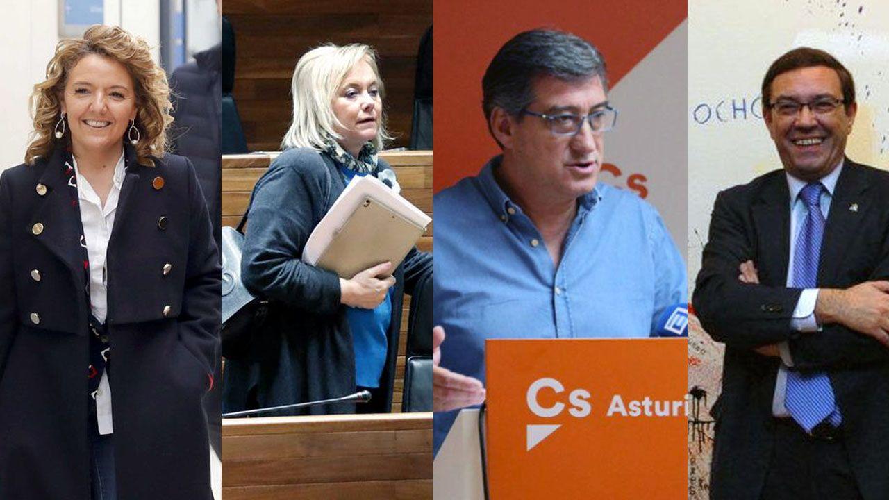 La vida a través de la cámara deJosé Zamora.Teresa Mallada, Mercedes Fernández, Ignacio Prendes y Juan Vázquez