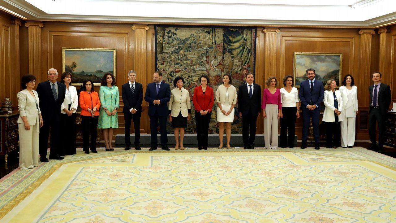 Los nuevos ministros designados por Pedro Sanchez
