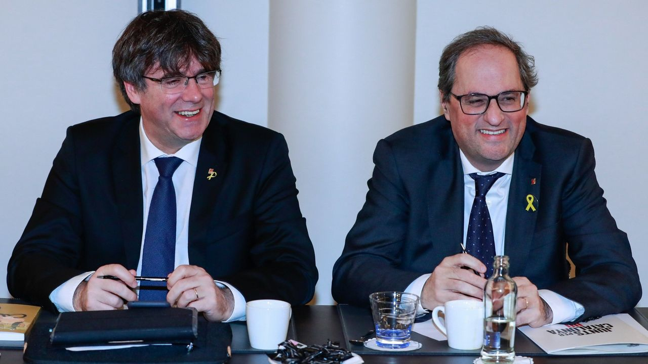 Puigdemont y Torra tienen previsto intervenir en el Parlamento Europeo el próximo día 18 de febrero invitados por los ultranacionalistas flamencos y un exministro esloveno