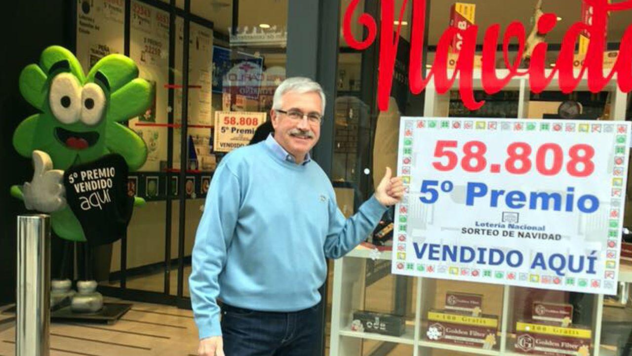 Restaurante «Lo que queda del dia» de Salvaterra de Miño que repartio mas de un millon de euros en la Loteria de Navidad