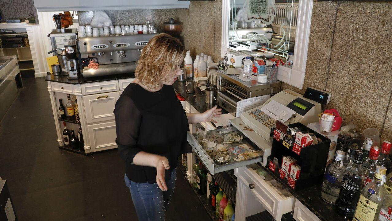 Asaltan por primera vez en 30 años, la cafeteríaBeethoven de Rábade.