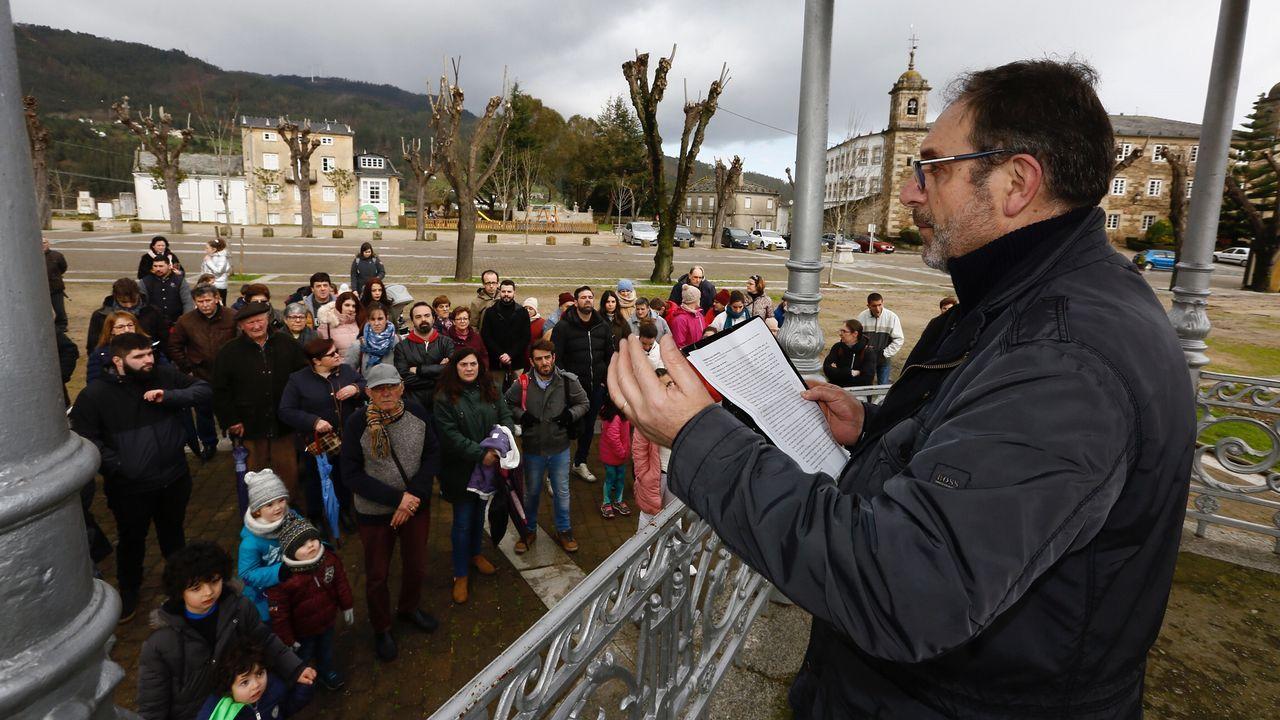 Antonio Reigosa pregona la 450 Festa da Árbore de Mondoñedo