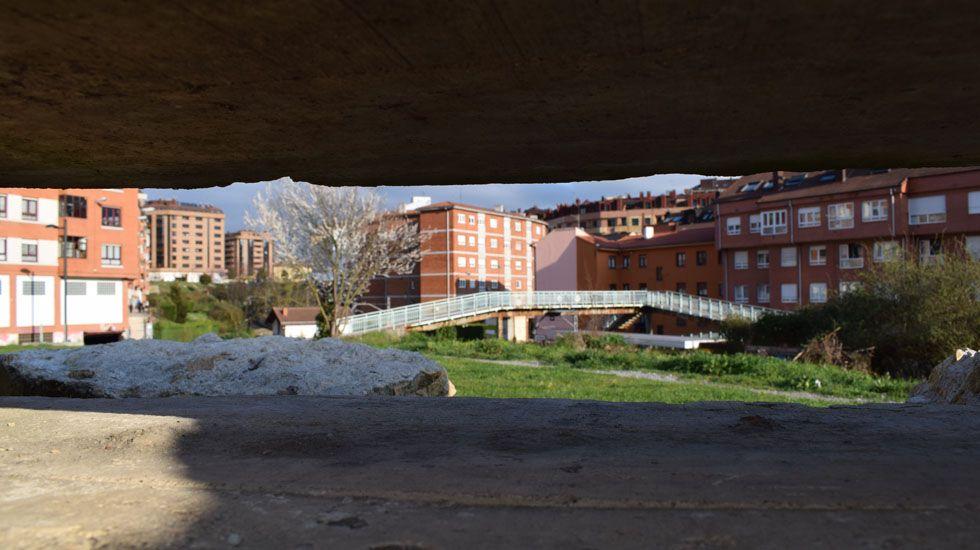 Detalle del Puente de la Argañosa.Detalle del Puente de la Argañosa