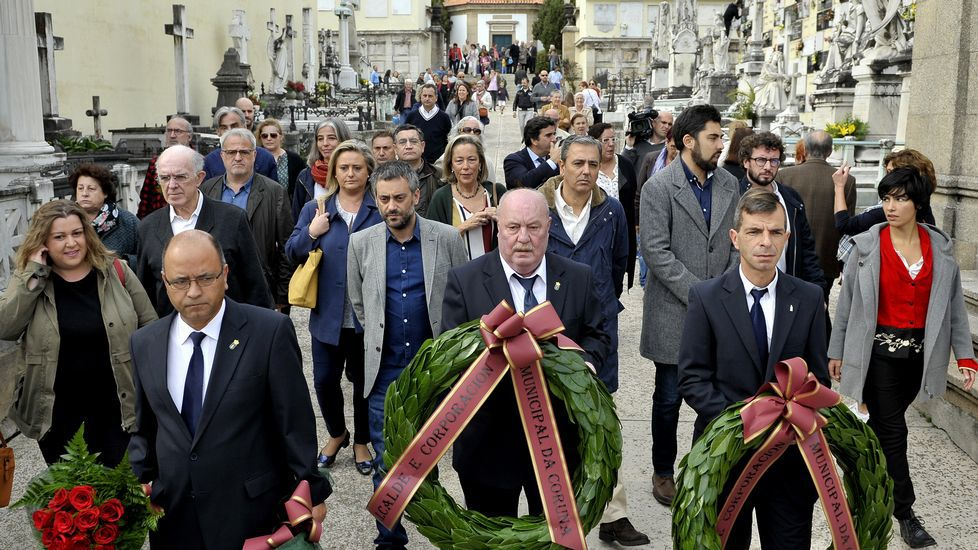 Ada Colau: «Hoy es un día negro para la democracia y para Cataluña».Ada Colau, durante un acto esta mañana