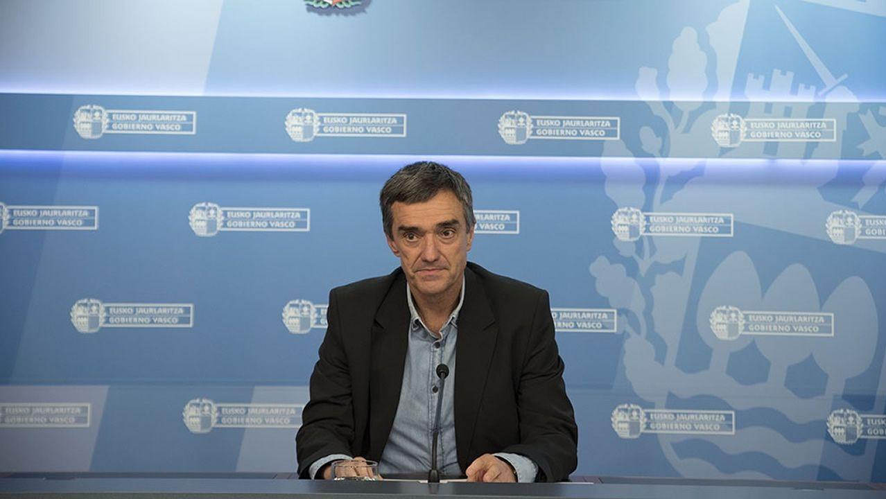 El secretario general de Derechos Humanos y Convivencia del Gobierno Vasco, Jonan Fernández