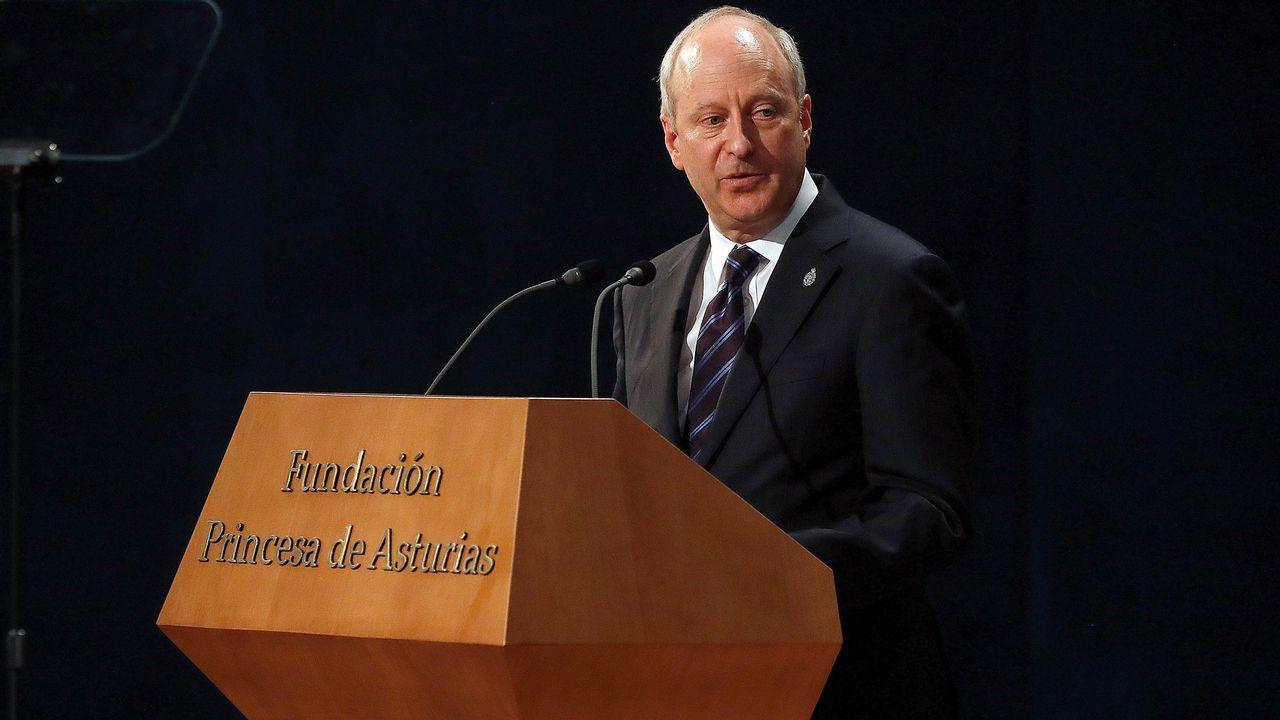 El filosofo estadounidense Michael J. Sandel, Premio Princesa de Asturias de Ciencias Sociales