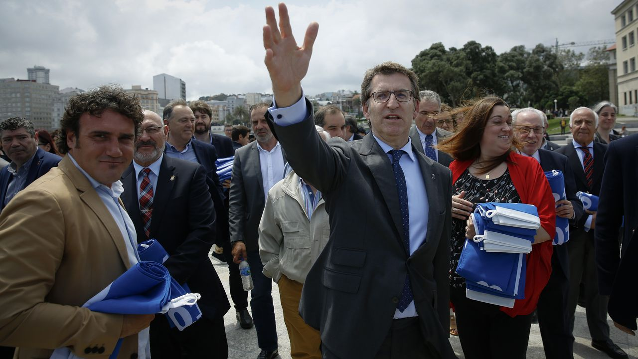 Feijoo: «Ser presidente da Xunta é o que máis pesa na miña decisión»