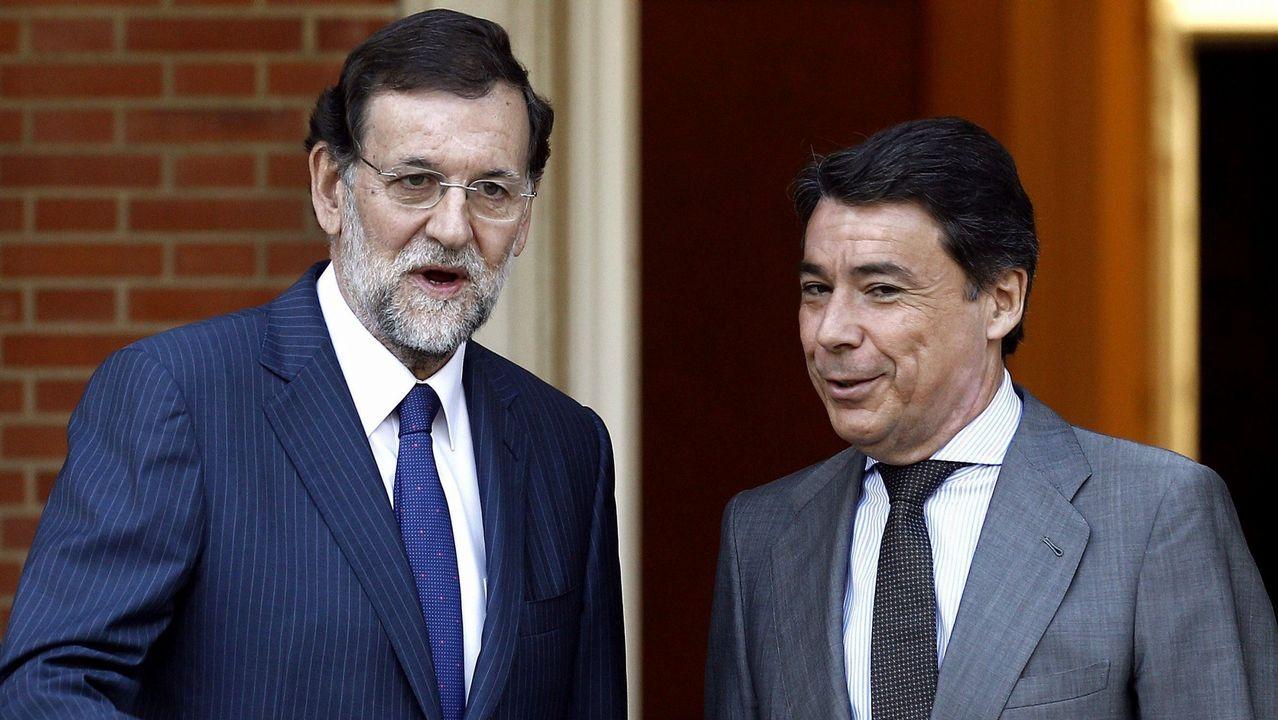 Mariano Rajoy e Ignacio González, en una imagen de archivo